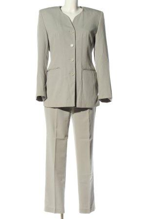 Miss H. Tailleur-pantalon gris clair style d'affaires
