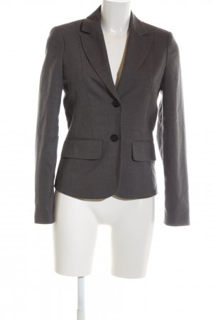Miss H. Kurz-Blazer hellgrau meliert Business-Look