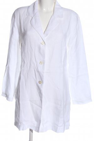 Miss H. Linen Blouse white business style