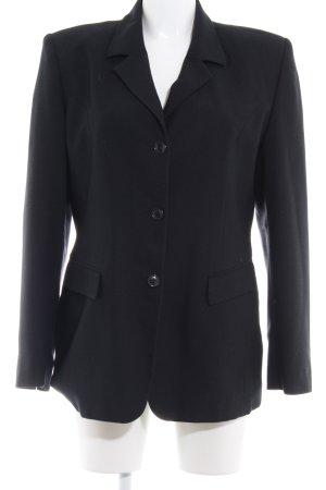Miss H. Long-Blazer schwarz klassischer Stil