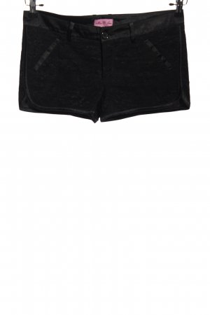 Miss June Hot Pants schwarz Casual-Look