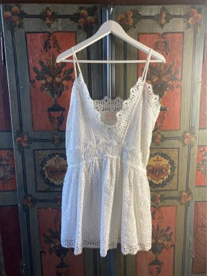 Miss June Sukienka boho biały