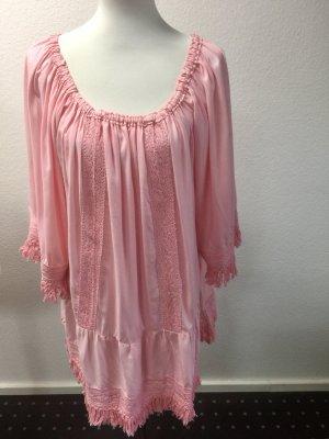 Miss June Paris Tunika / Kleid rosa