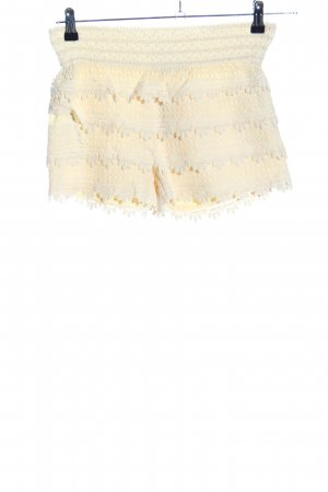 Miss Kelly Shorts blassgelb Casual-Look
