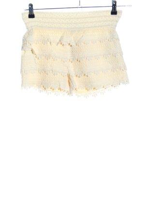 Miss Kelly Shorts blassgelb Casual-Look