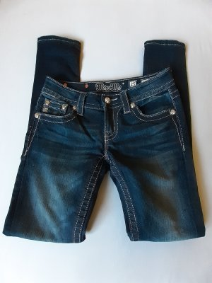 Miss Me Jeans Bluejeans mit Strass