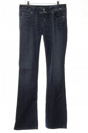 Miss Me Jeansschlaghose blau Casual-Look