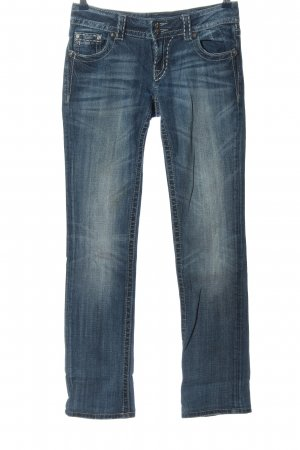 Miss Me Straight-Leg Jeans blau Casual-Look
