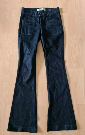 miss miss flared bootcut jeans schlaghose Hippie boho