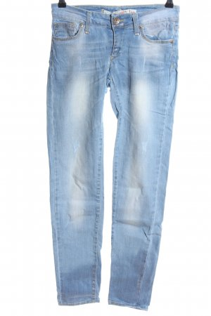 miss miss Slim Jeans blau Casual-Look