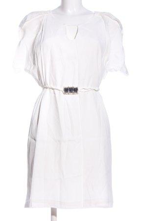 Miss Money Money A-Linien Kleid weiß Casual-Look