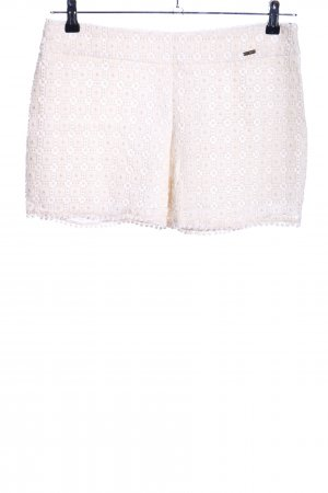 Miss Money Money Hot Pants creme Allover-Druck Casual-Look