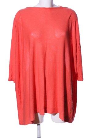 Miss Money Money Oversized Shirt rot Casual-Look