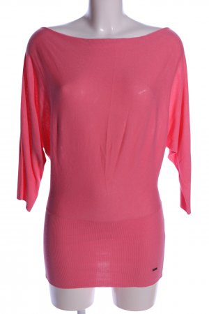 Miss Money Money U-Boot-Shirt pink Casual-Look
