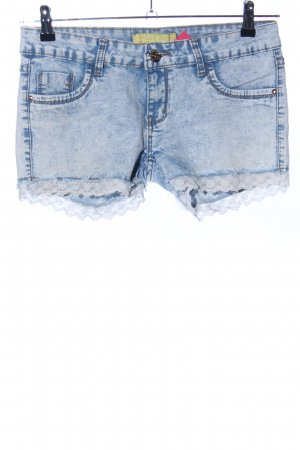 Denim Shorts blue casual look