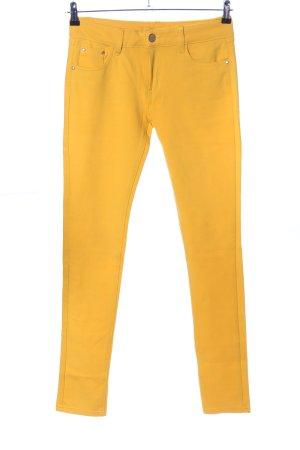 Jegging jaune primevère style décontracté