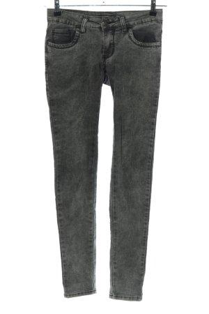 Miss RJ Stretch Jeans hellgrau Casual-Look