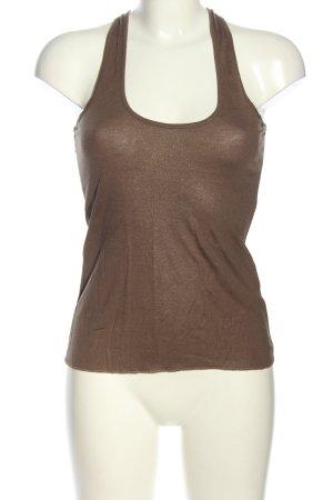 Miss Selfridge A-Linien Top braun Casual-Look