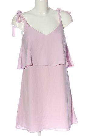 Miss Selfridge Pinafore dress pink casual look