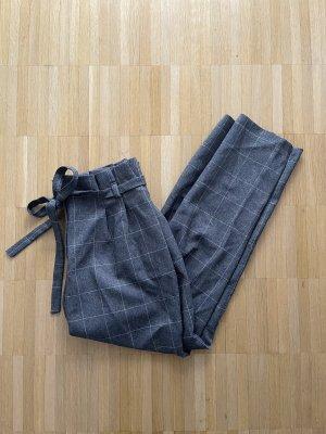 Miss Selfridge Spodnie materiałowe biały-szary