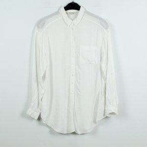 MISS SELFRIDGE Bluse Gr. 36 weiß oversized (19/11/179*)
