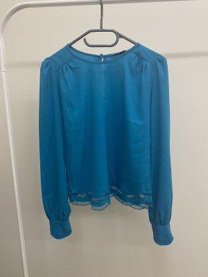 Miss Selfridge Bluse Oberteil Türkis blau in 34 / XS
