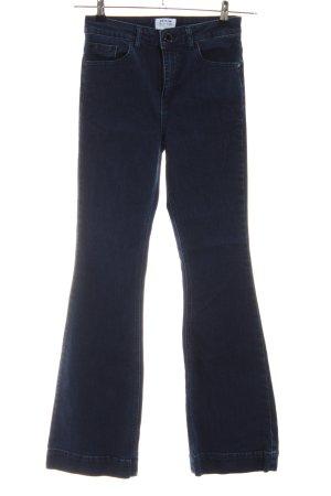 Miss Selfridge Jeans bootcut bleu style décontracté