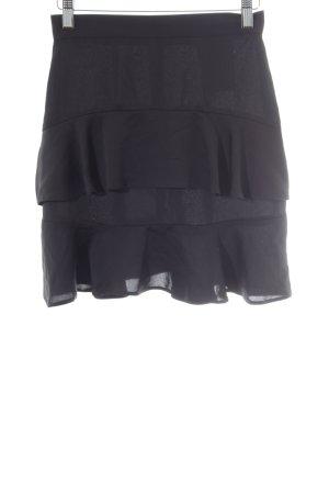 Miss Selfridge Jupe à plis noir élégant