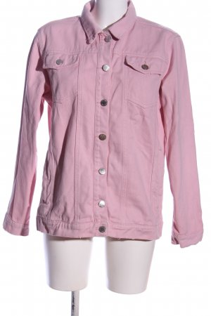 Miss Selfridge Jeansjacke pink Casual-Look