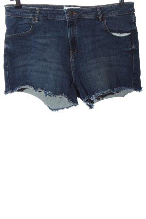 Miss Selfridge Denim Shorts blue casual look