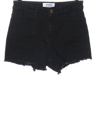 Miss Selfridge Denim Shorts black casual look