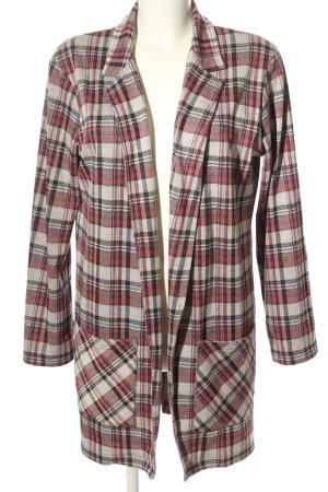 Miss Selfridge Jersey Blazer check pattern casual look