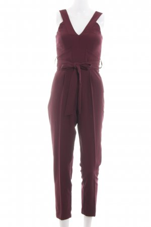 Miss Selfridge Jumpsuit rot Business-Look