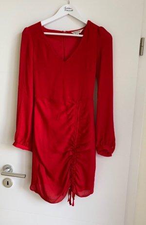 Miss Selfridge Robe chiffon rouge