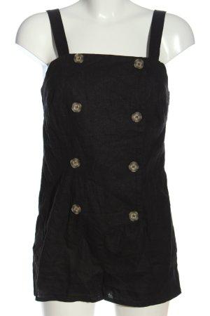 Miss Selfridge Kurzer Jumpsuit black flecked casual look