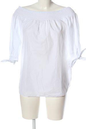 Miss Selfridge Langarm-Bluse weiß Elegant