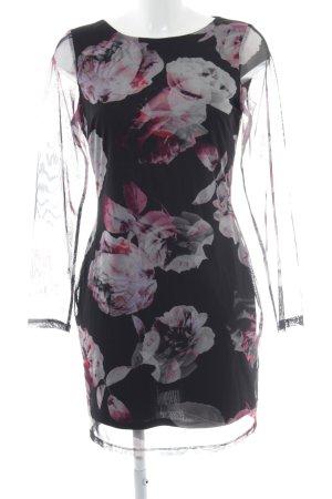 Miss Selfridge Vestido de manga larga estampado floral estilo fiesta