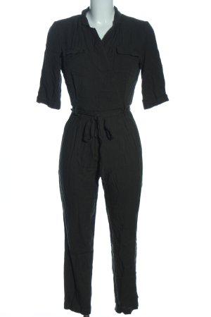 Miss Selfridge Langer Jumpsuit noir style décontracté