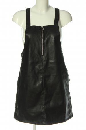 Miss Selfridge Faux Leather Dress black casual look