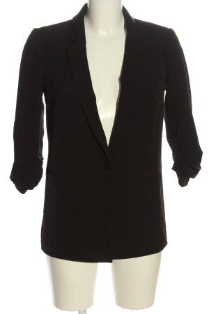 Miss Selfridge Long-Blazer braun Business-Look