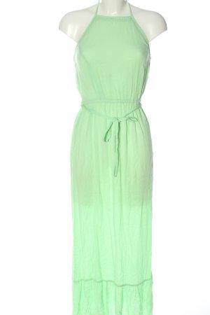 Miss Selfridge Robe longue vert élégant