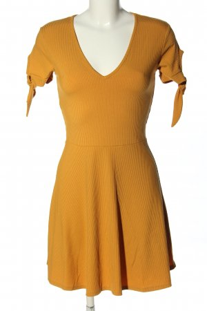 Miss Selfridge Minikleid hellorange Casual-Look