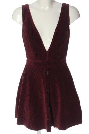 Miss Selfridge Robe courte rouge style décontracté