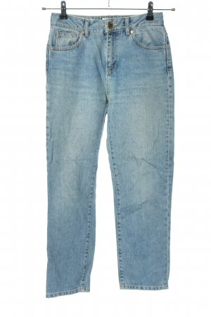 Miss Selfridge Mom-Jeans blau Casual-Look