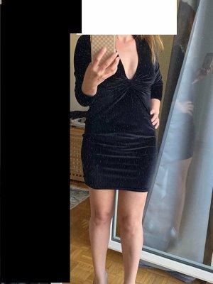 Miss Selfridge Sukienka mini czarny Poliester