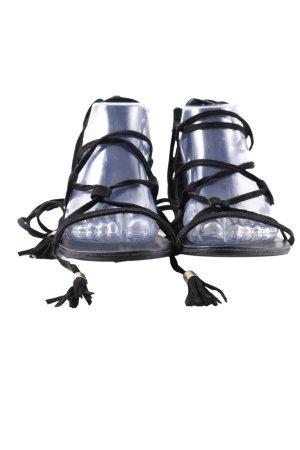 Miss Selfridge Romeinse sandalen zwart casual uitstraling