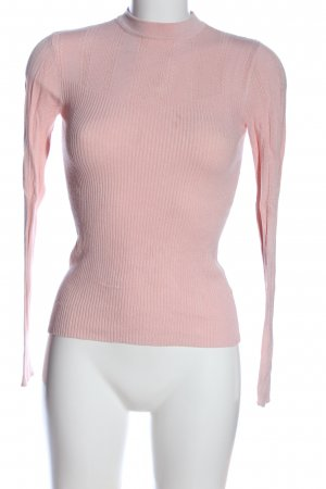 Miss Selfridge Maglione dolcevita rosa stile casual