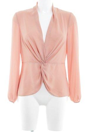 Miss Selfridge Schlupf-Bluse apricot Elegant