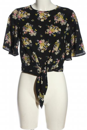 Miss Selfridge Schlupf-Bluse Blumenmuster Casual-Look