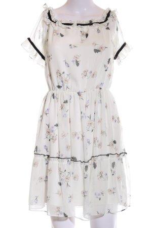 Miss Selfridge schulterfreies Kleid Blumenmuster Elegant